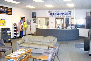Jergenson Auto Repair & Tire Sales