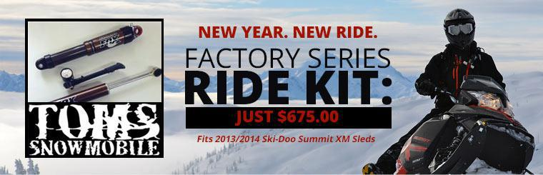 The Factory Series Ride Kit is just $675.00!