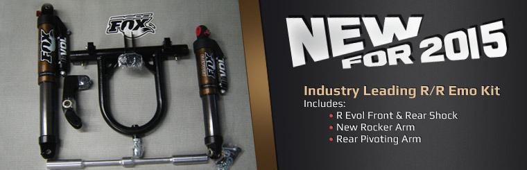 New for 2015: Industry leading R/R Emo Kit. Click here to contact us for more details.