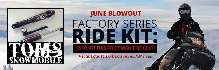 Factory Series Ride Kit: $510.97! This price won't be beat!
