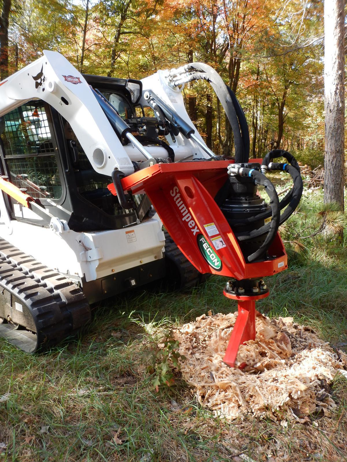 Fecon 2019 Stumpex Stump Grinder For Skid Steers For Sale In