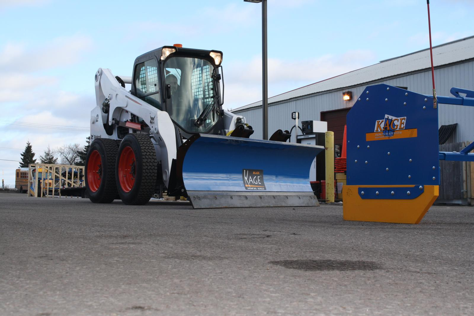 KAGE 2019 SBK108 - 9 foot Blade and Box Plow System