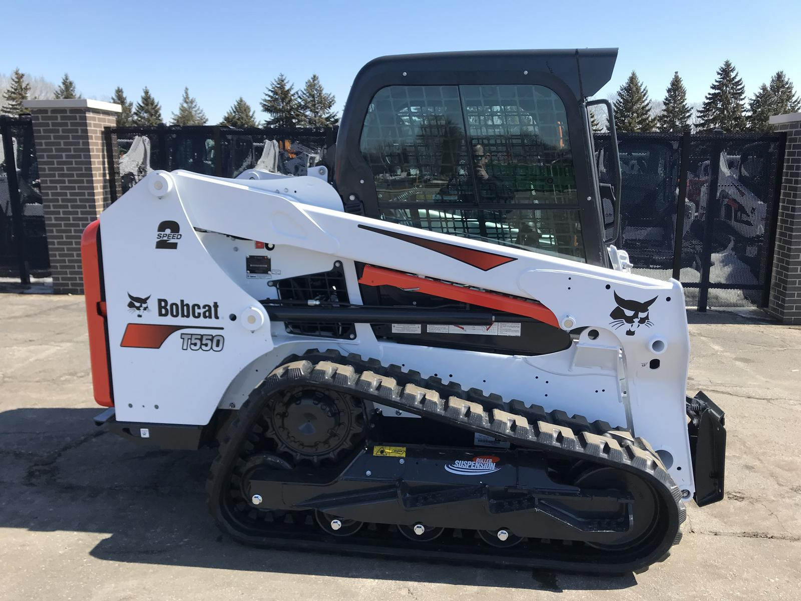2019 Bobcat T550 Roller Suspension Option for sale in Little
