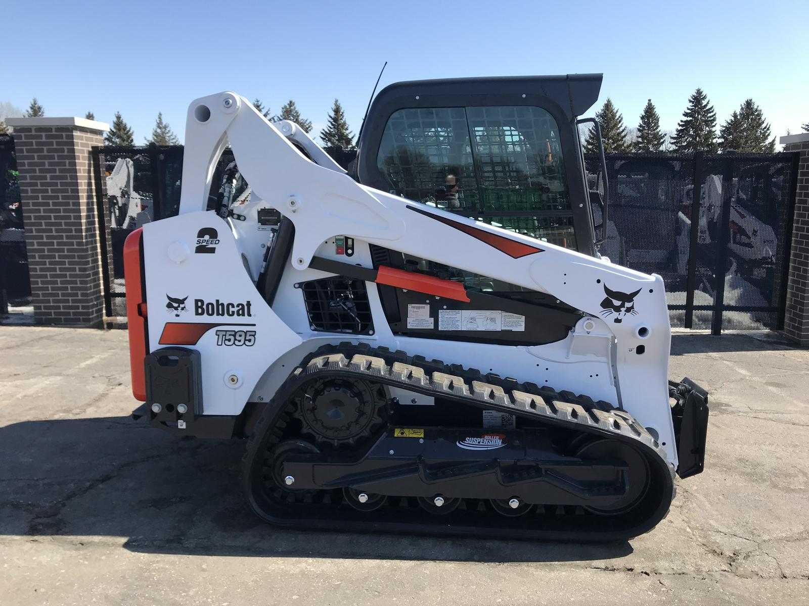 2019 Bobcat T595 Roller Suspension Option for sale in Little Canada