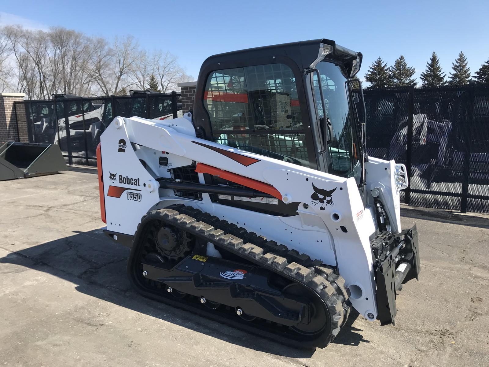 2019 Bobcat T550 Roller Suspension Option for sale in Little Canada
