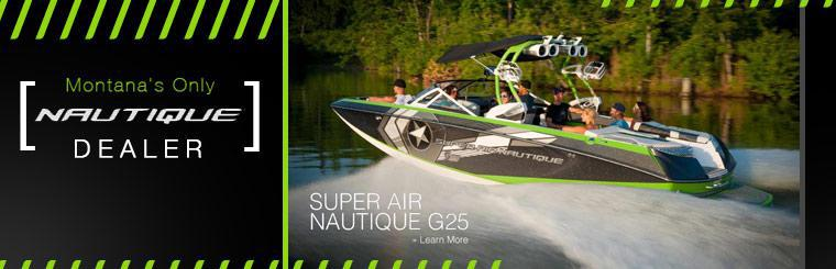 We are Montana's only Nautique dealer!