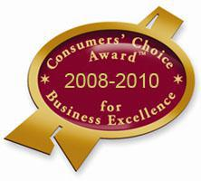 Consumer Choice Award 2008-2010