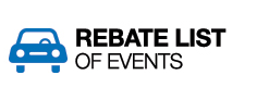 Rebate List of Events