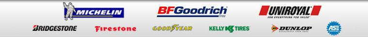 We proudly offer products from Michelin®, BFGoodrich®, Uniroyal®, Bridgestone, Firestone, Goodyear, Kelly, and Dunlop. Our technicians are ASE certified.