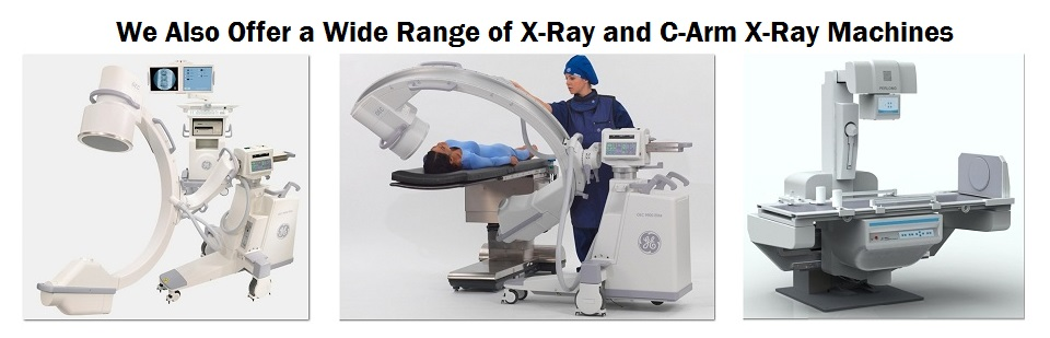 We Offer a Variety of X-Ray Machines