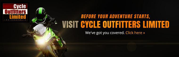 Before your adventure starts, visit Cycle Outfitters Limited. Click here to contact us.