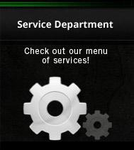 Service Department: Check out our menu of services!