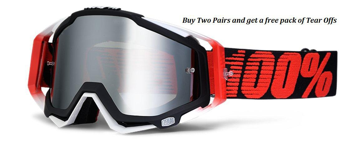 Authorized 100% Goggle dealer