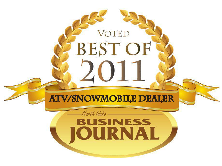 North Idaho Business Journal ATV/Snowmobile Dealer of the Year for 2011