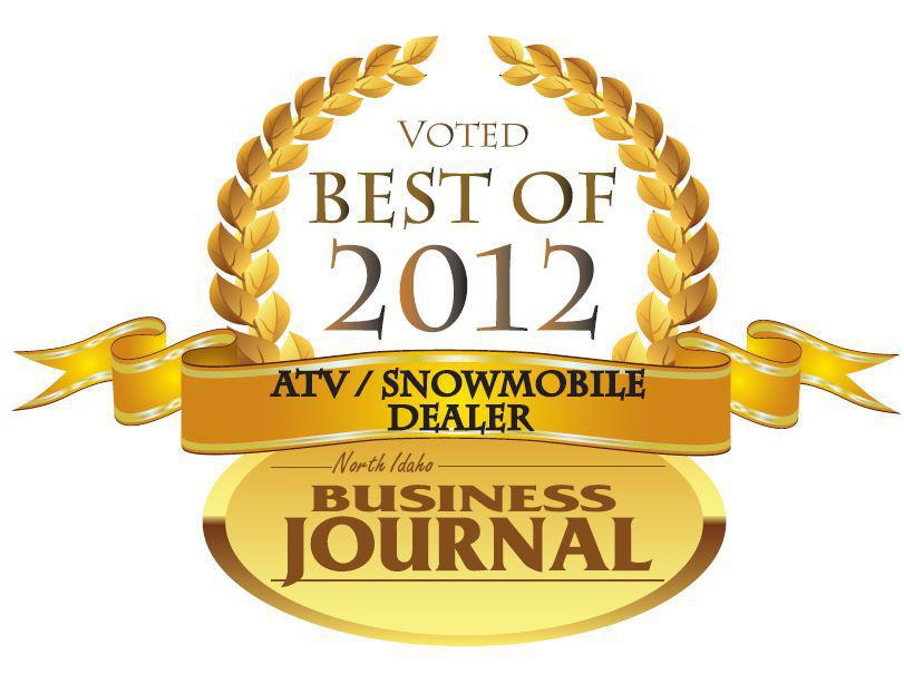 North Idaho Business Journal ATV/Snowmobile Dealer of the Year for 2012
