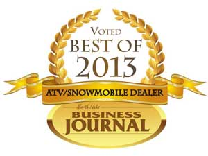 North Idaho Business Journal ATV/Snowmobile Dealer of the Year for 2013