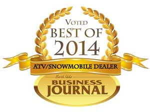 North Idaho Business Journal ATV/Snowmobile Dealer of the Year for 2014