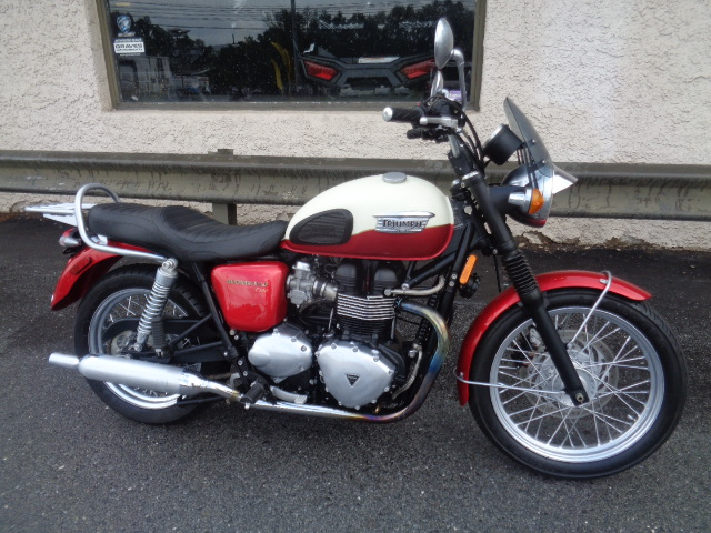 2012 Triumph Bonneville T100 For Sale In Douglassville Pa