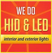 We do HID & LED interior and exterior lights.