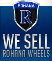 We sell Rohana Wheels.