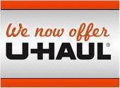 We now offer U-Haul.