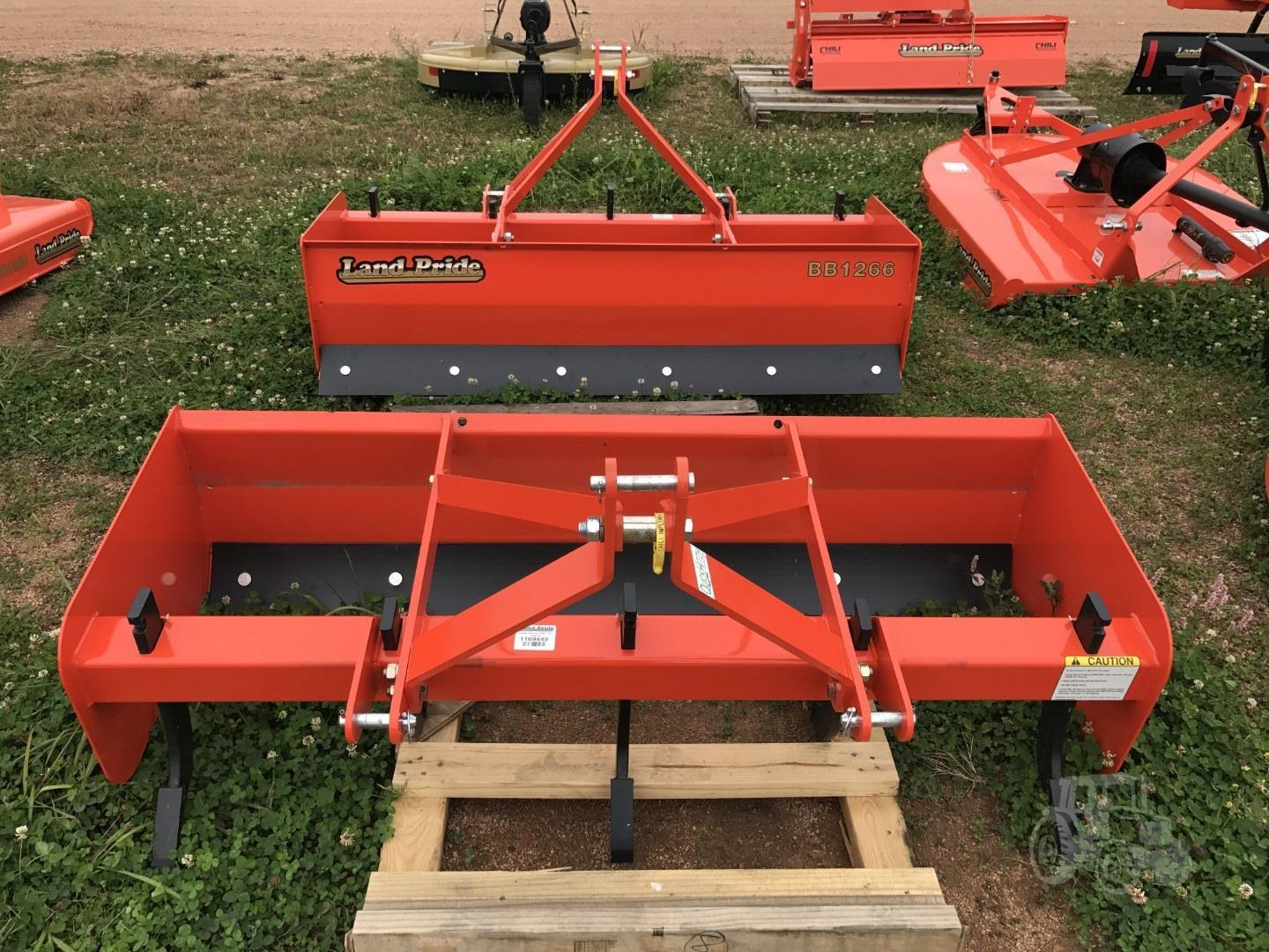 Agricultural Box Scrapers from Land Pride Chili Implement Co
