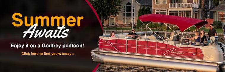 Godfrey Pontoons: Click here to find yours today.