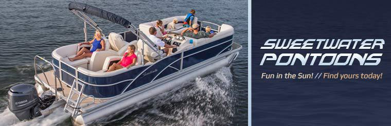 Click here to find your Sweetwater Pontoon today.
