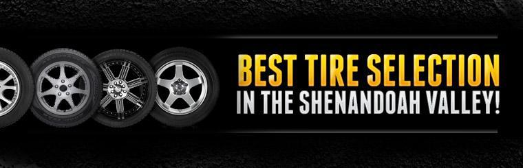 C C Rosen & Sons has the best tire selection in the Shenandoah Valley!