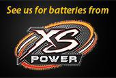 See us for batteries from XS Power!