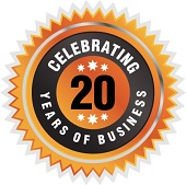 Celebrating Twenty Years in Business