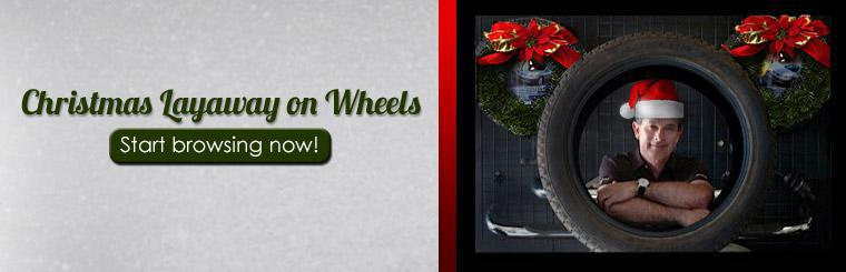 Christmas Layaway on Wheels: Start browsing now!