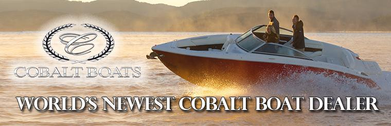 World's newest Cobalt Boat dealer!