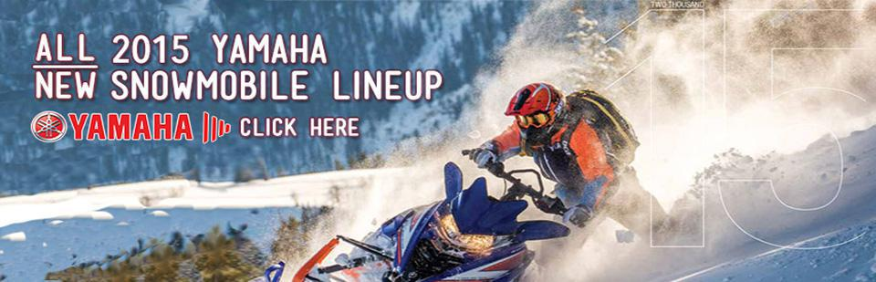 Click here to view the 2015 Yamaha snowmobile lineup.