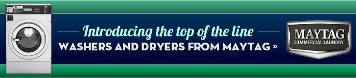 Introducing the top of the line washers and dryers from Maytag!