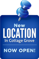 New location in Cottage Grove now open!