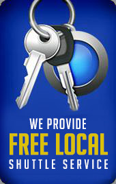 We provide free local shuttle service.