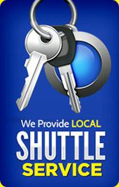 We provide local shuttle service.