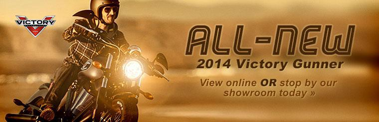 Click here to learn  more about the all-new 2014 Victory Gunner.