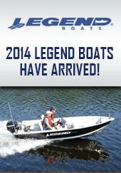 2014 Legend Boats Have Arrived