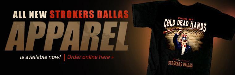 All new Strokers Dallas apparel is available now! Click here to order online.