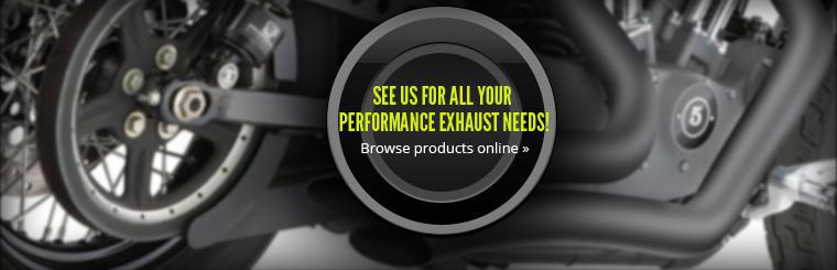 See us for all your performance exhaust needs! Click here to check out our products online.