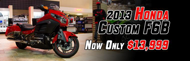 2013 Custom Honda GoldWing F6B Now Only $13,999