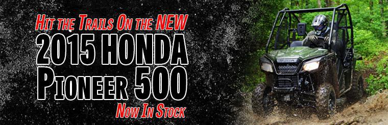 2015 Pioneer 500 - Honda's Newest Model