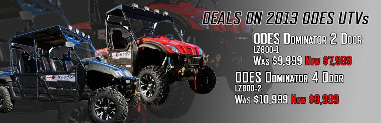 ODES UTV SALE! Save $$$