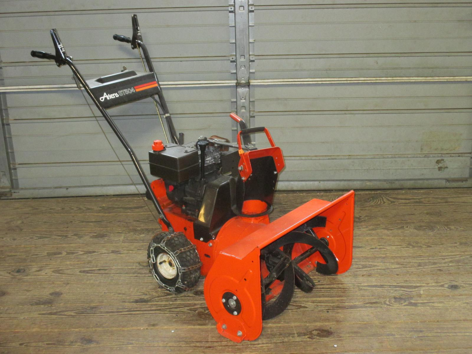 Ariens Snow Blowers For Sale >> Ariens St504