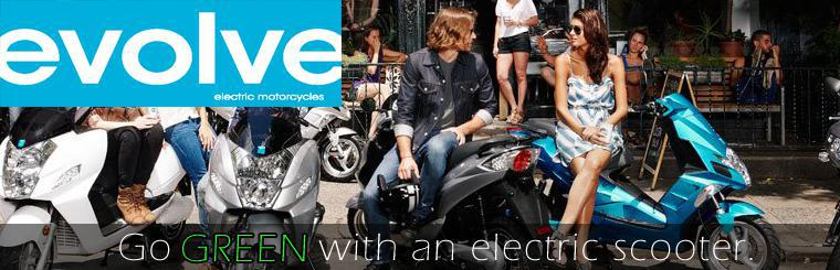 evolve electric scooters