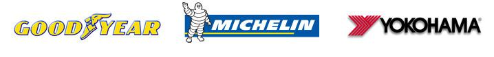 We carry products from Goodyear, Michelin®, and Yokohama.