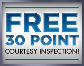 Free 30 Point Courtesy Inspection
