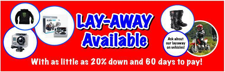 Layaway Available